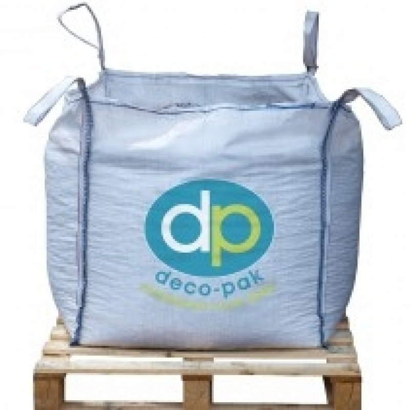 Deco-Pak Green Chippings - Bulk Bag 850Kg