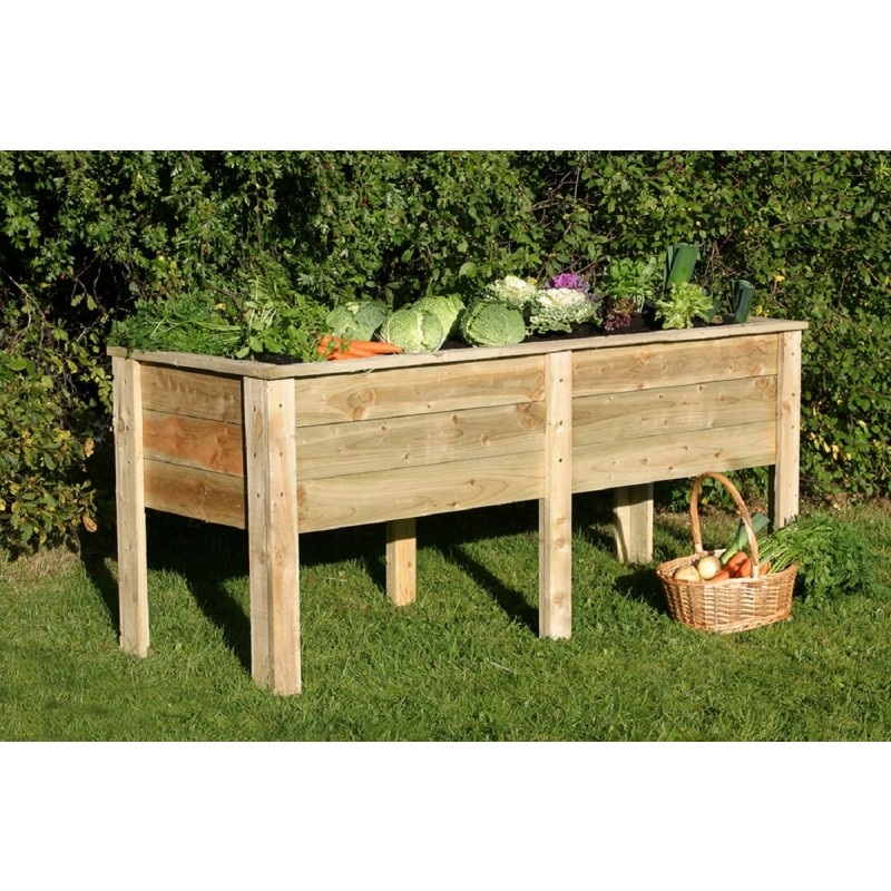Deep Root Wooden Planter 1.8 Metre