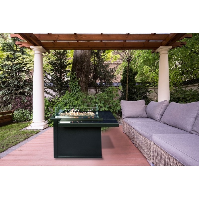 Muztag Gongga Outdoor Gas Fire Pit Table