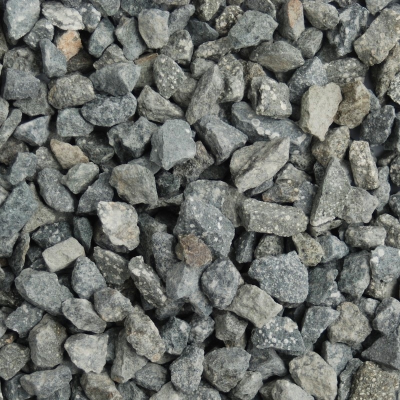 Green Granite Chippings (dry)