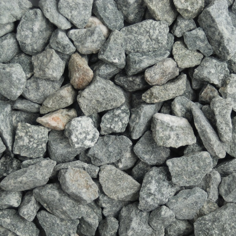Green Granite Decorative Chippings