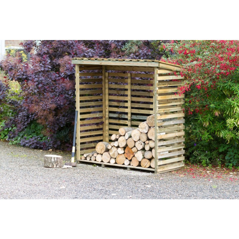 Large Log Store with back
