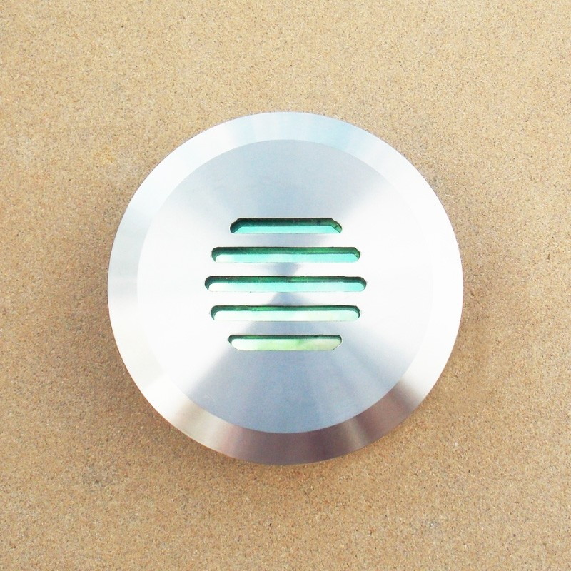 Linalite - Stainless Steel Louvered in wall or step light - marine grade