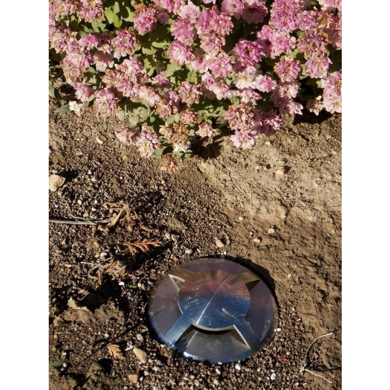 QuadMarka - 240v 4 Way In Ground / Step Light - 316 Stainless Steel