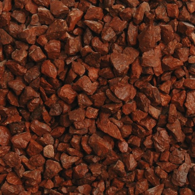 Rustic Red Decorative Chippings (Wet)
