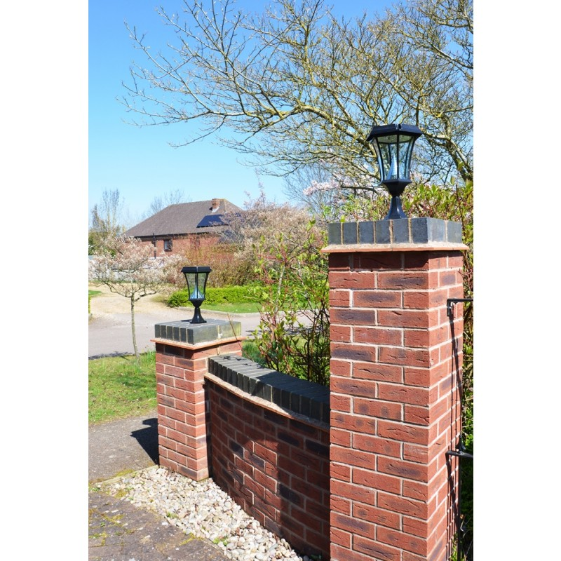 Professional Solar Pedestal Light