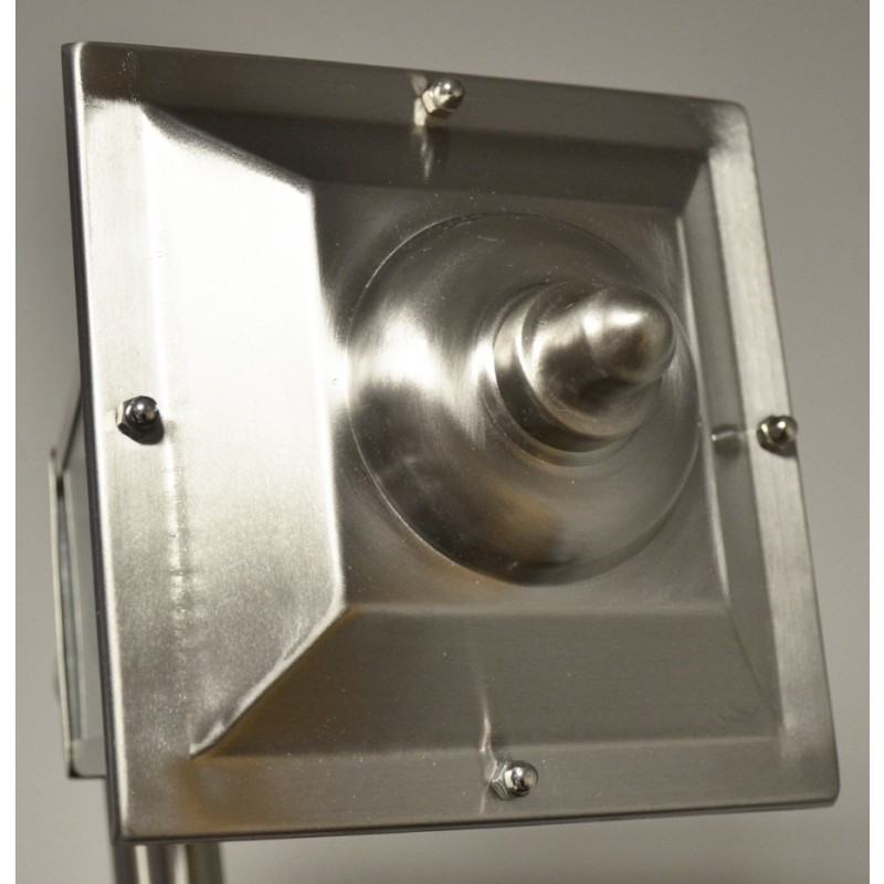 Top of Stainless Wall Light
