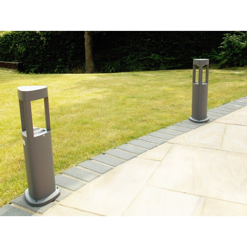 Tristar 500 - LED Path Light - 500mm Aluminium Bollard Light - Warm White GX53