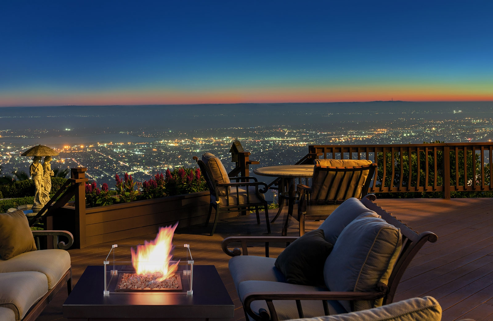 Outdoor fires and heaters