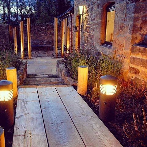 Lighting makes all the difference to any new or established garden or landscape