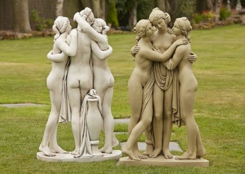 Border Stoneware Statues, Garden Ornaments and Furniture