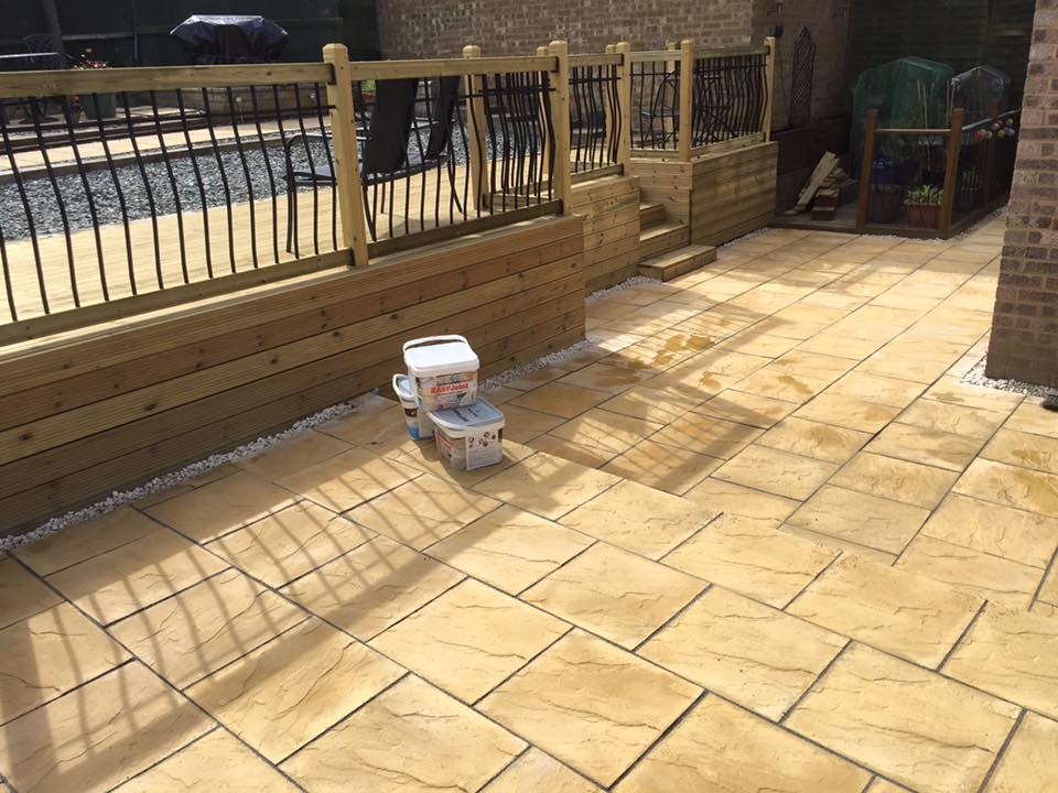 Paving from Supreme Landscaping Products