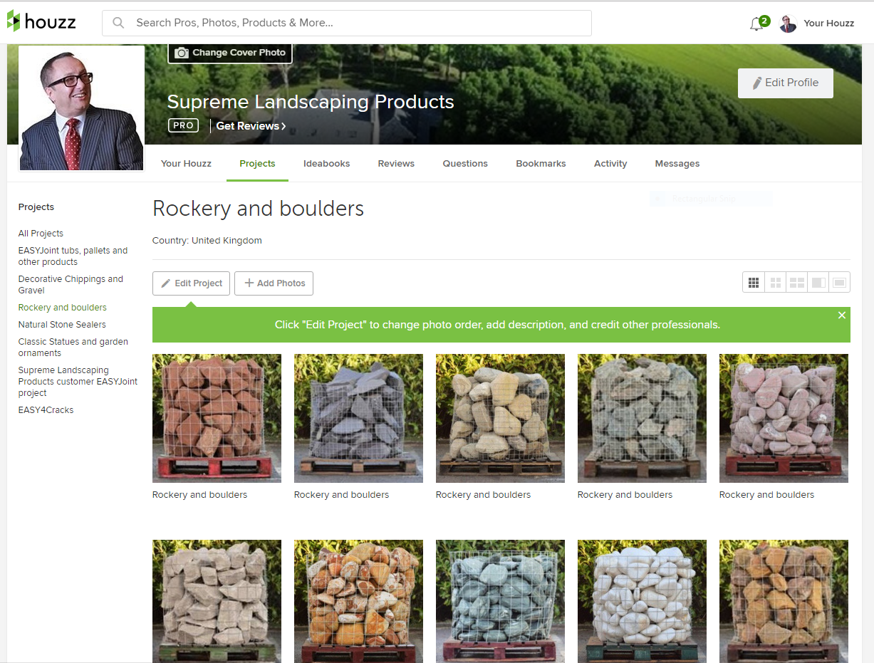 Supreme Landscaping Products on Houzz