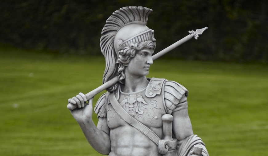 Roman Centurion Statue from Supreme Landscaping Products