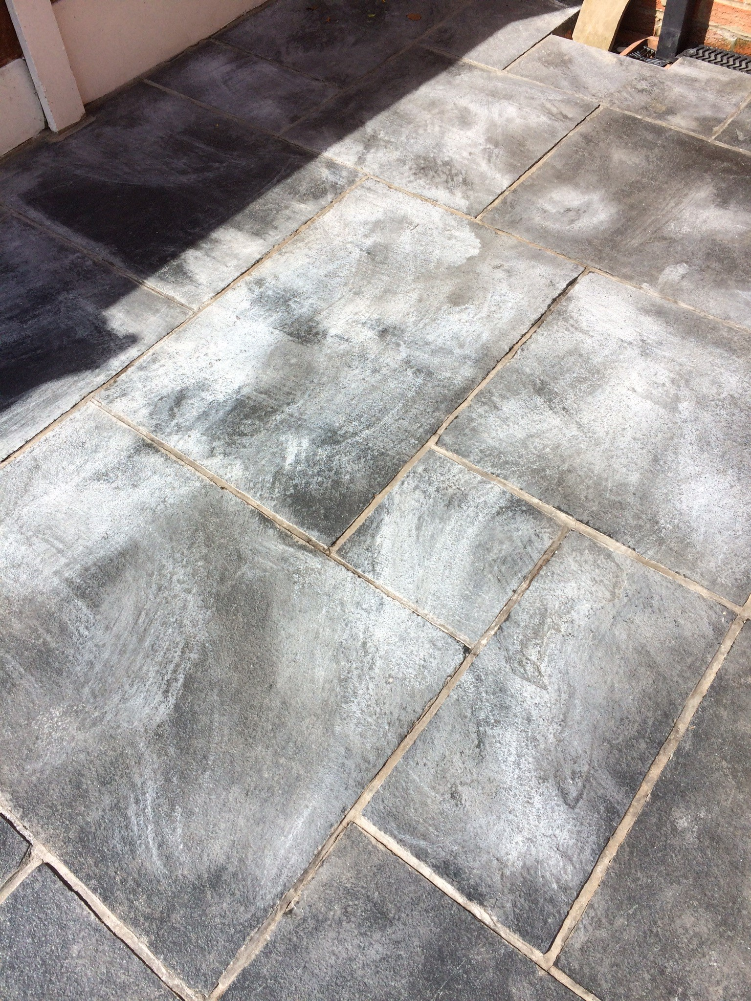 Patio paving nightmare