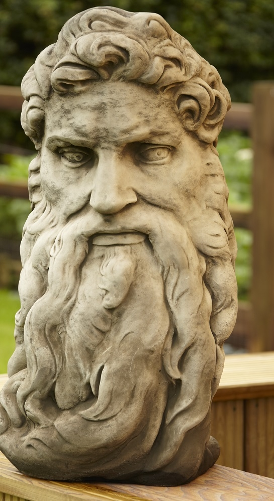 Zeus or God head statue from Supreme Landscaping Products