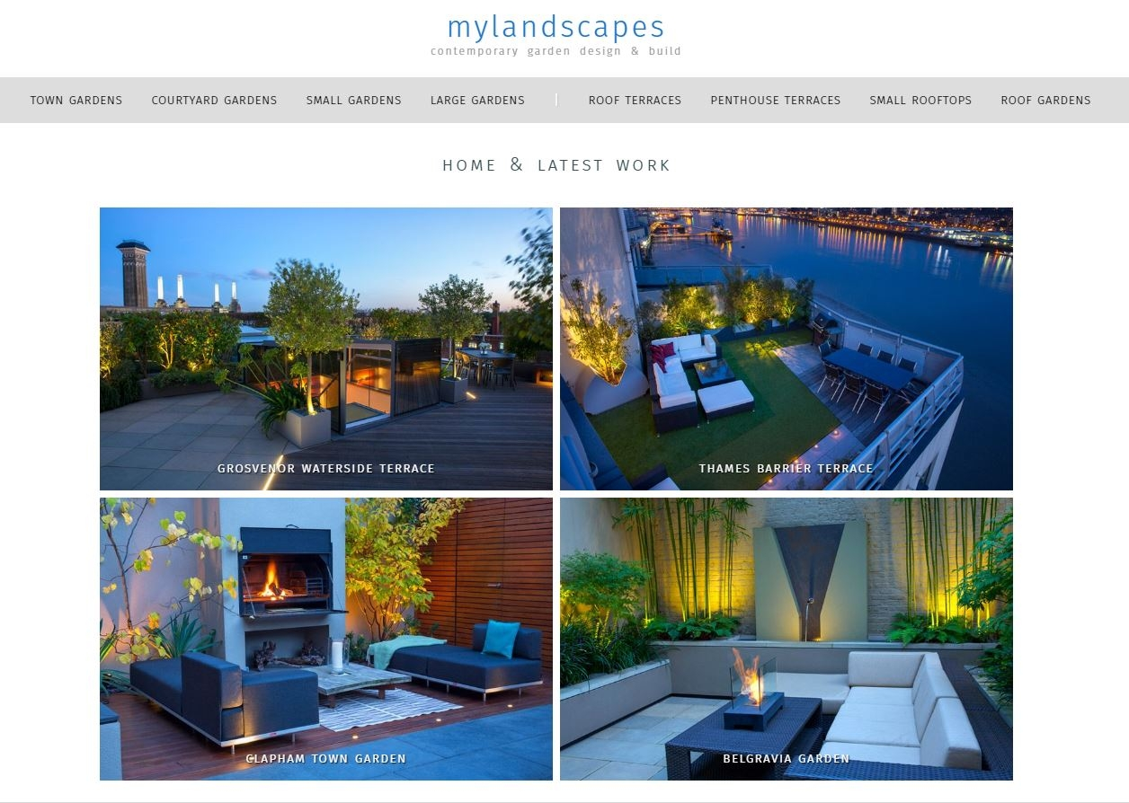 Mylandscapes website and blog