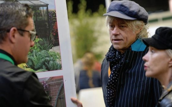 Sir Bob Geldof at the Landscape Show