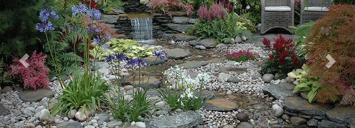 Decorative stone and rockery from Supreme Landscaping Products