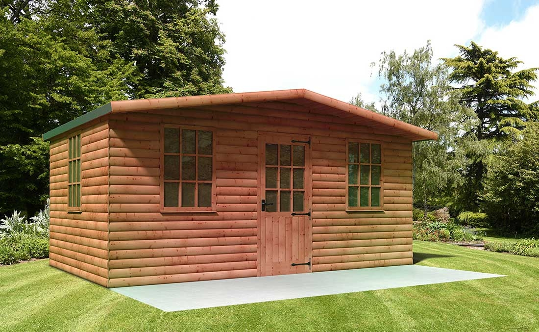Quality summerhouses and timber outbuildings from Supreme Landscaping Products
