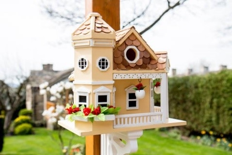 Bird mansion!