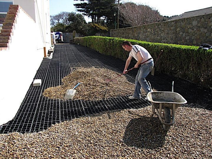 EASYGrid for shed and outbuildings, car parks and driveways