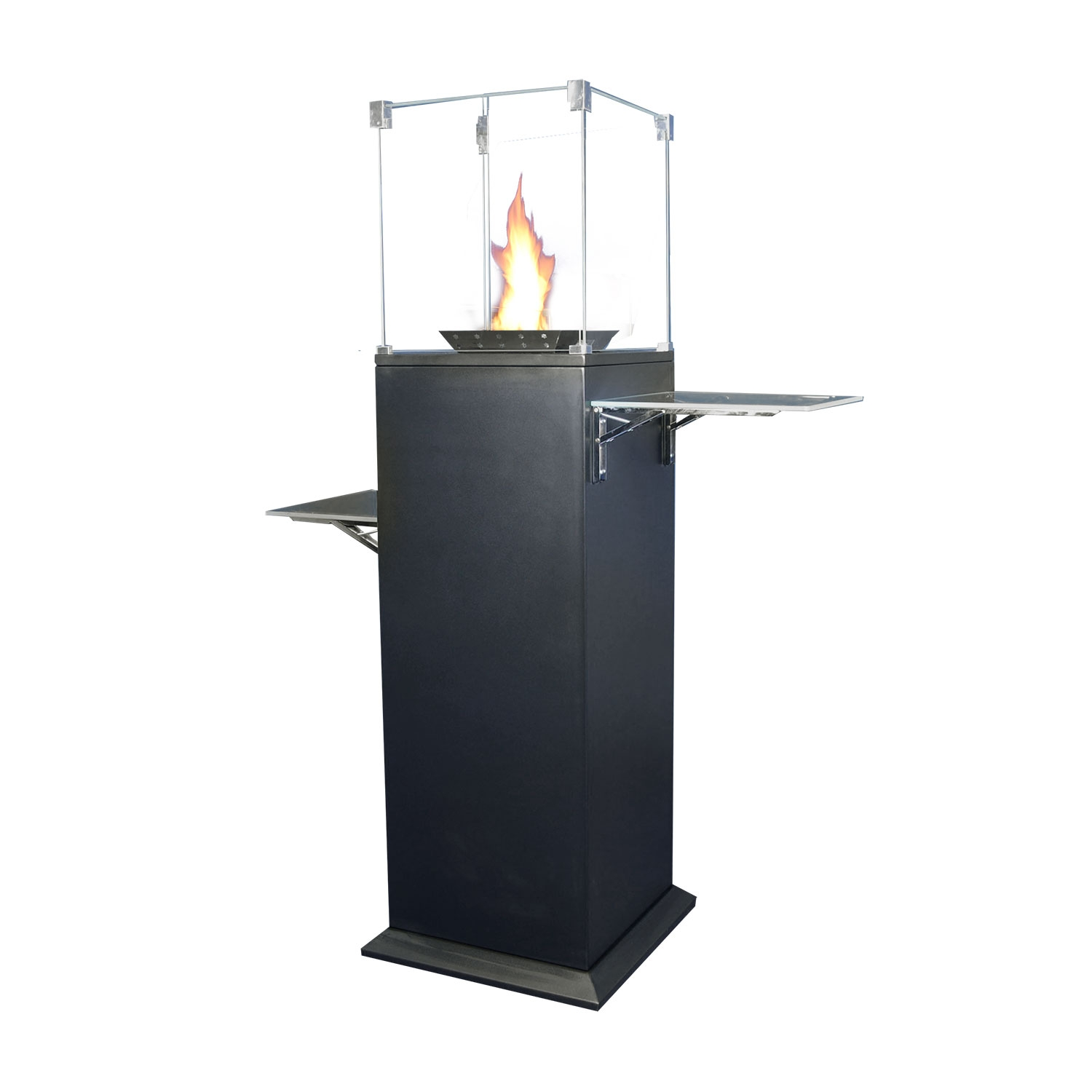 Qogir-516 High Base Outdoor Gas Fire ideal for restaurants, pubs and bistros